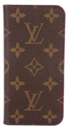 Louis Vuitton 2018 Monogram iPhone 8 Folio