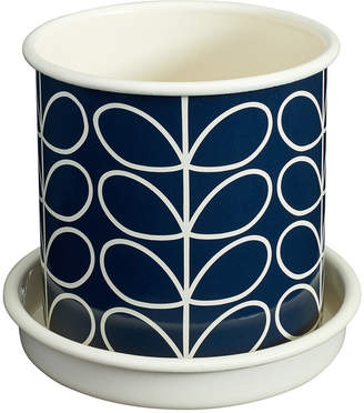 Orla Kiely Medium Linear Stem Plant Pot