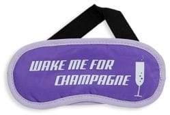 Flight 001 Champagne-Print Eye Mask
