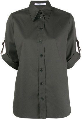 Givenchy short sleeved military shirt
