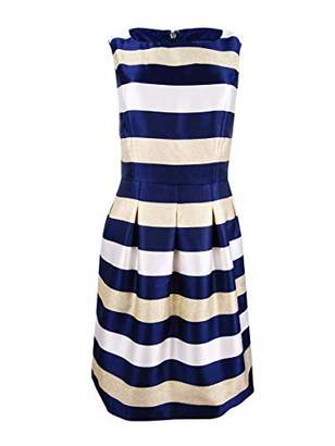 Tommy Hilfiger Women's Nightfall Stripe Jaqauard Dress