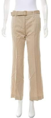 Stella McCartney Mid-Rise Wool Pants