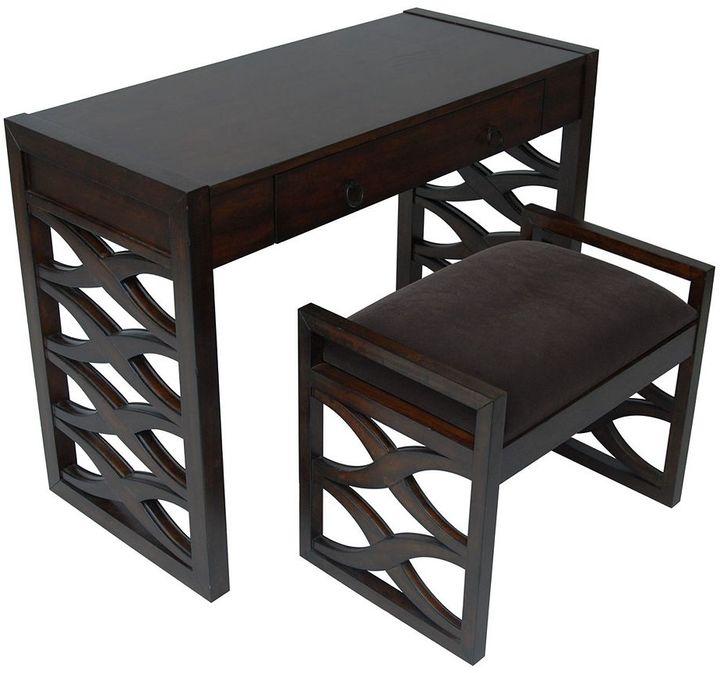 Waverly Carolina Accents Desk & Bench Set