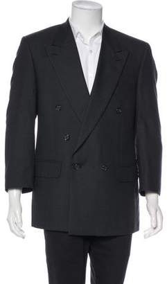 Burberry Wool Double-Breasted Blazer
