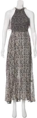 Rosie Assoulin Printed Maxi Dress