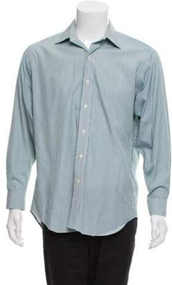 Barneys New York Barney's New York Stripped Dress Shirt