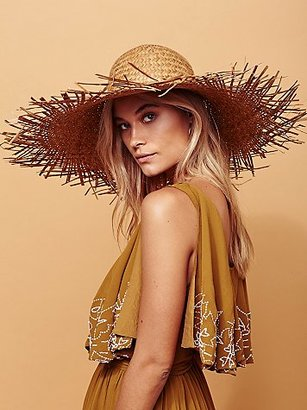 Russo Oversized Straw Hat by Lack of Colour at Free People $98 thestylecure.com