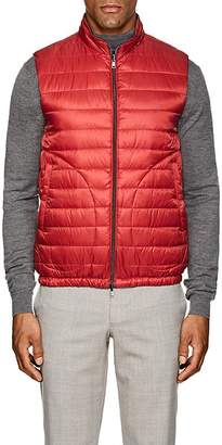 Herno MEN'S REVERSIBLE DOWN-QUILTED VEST