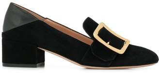 Bally side buckle loafers