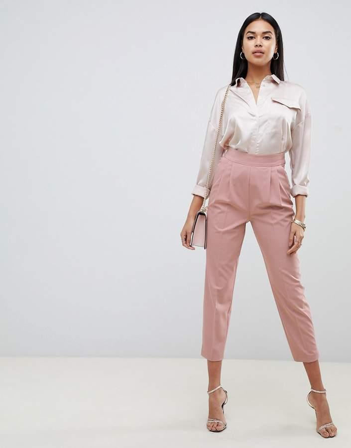 Asos Design ASOS DESIGN high waist tapered pants