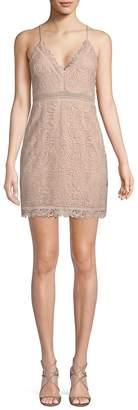 The Jetset Diaries Women's Hyacinth Paisley Lace Mini Dress