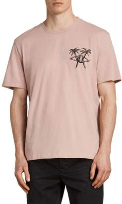 AllSaints Barbed Palm Short Sleeve T-Shirt