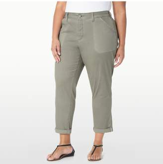 NYDJ RELAXED CHINO ANKLE IN TWILL IN PLUS