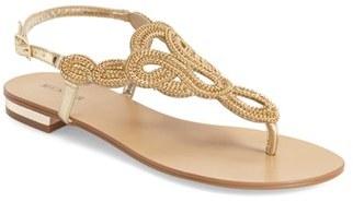 Women's Menbur 'Gazania' Embellished Flat Sandal $124.80 thestylecure.com