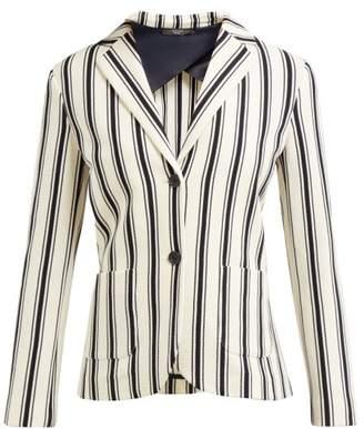 Max Mara Perak Jacket - Womens - White Stripe