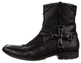 Mark Nason Leather Ankle Boots