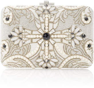 Judith Leiber Couture Pearly Cross Clutch