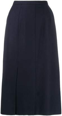 Guy Laroche Pre-Owned 1970s Guy Laroche's straight knee-length skirt