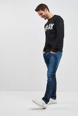 Next Mens Replay Anbass Hyperflex Slim Fit Jean