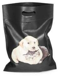 Balenciaga Dog& Cat Leather Shopping Bag
