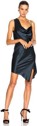 Michelle Mason Bias Cowl Neck Dress