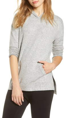 Lou & Grey Brushed Hooded Pullover