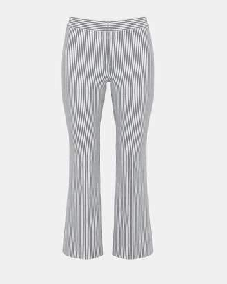 Theory Striped Stretch Kick Pant