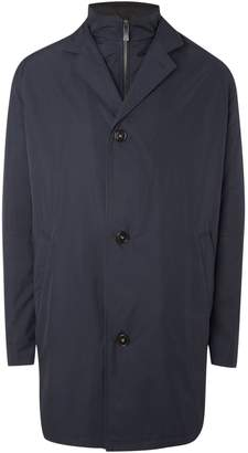 Bugatti Men's Long Wool Coat
