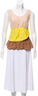 Marni Colorblock Sleeveless Top