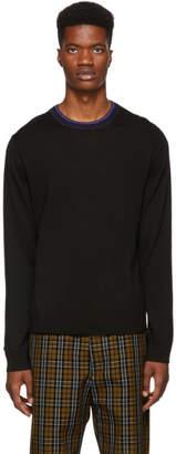 Paul Smith Black Merino and Alpaca Sweater