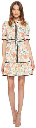 Kate Spade Blossom Fluid Shirtdress Women's Dress
