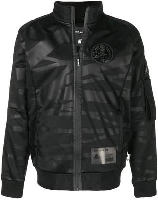 Philipp Plein stripe patterned jacket
