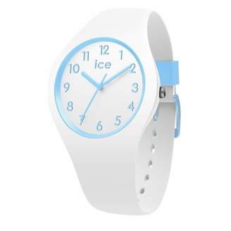 Ice Watch Ice-Watch - Ice Ola kids Cotton White - Boy's Wristwatch with Silicon Strap - 014425 (Small)