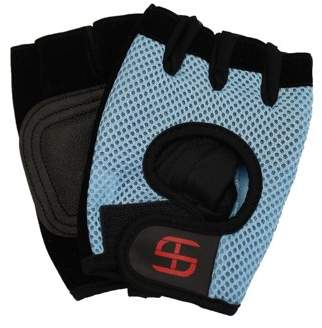 Me Jane Ltd WORKOUT GYM EXERCISE GLOVES WITH BREATHABLE MESH - Size: Large
