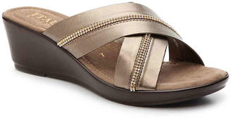 Italian Shoemakers Jewel Wedge Sandal - Women's