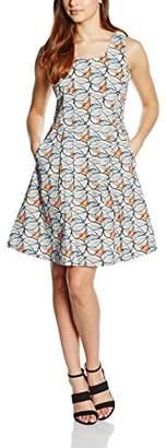 Almost Famous Women's Leaf Print Shift Dress