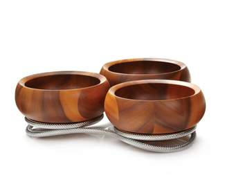 Nambe Braid Collection Condiment Server