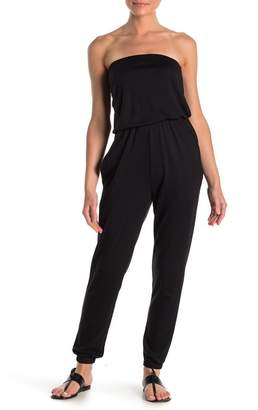 Couture Go Kaitlyn Strapless Knit Jumpsuit