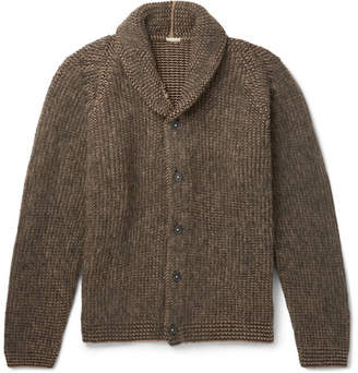 Massimo Alba Brushed Camel Hair Cardigan