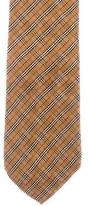 Burberry Silk Nova Check Tie