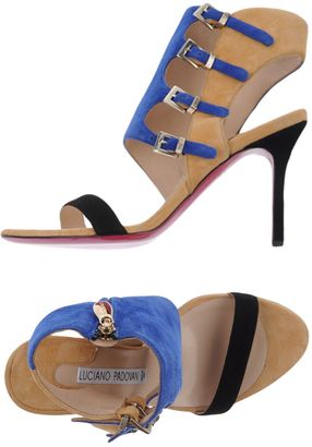 LUCIANO PADOVAN Sandals $355 thestylecure.com