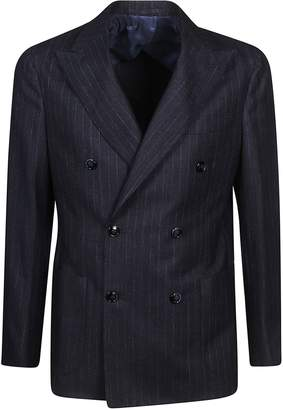 Barba Napoli Striped Blazer