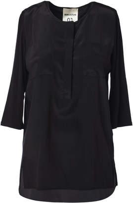 Semi-Couture Semicouture SEMICOUTURE Henley Blouse