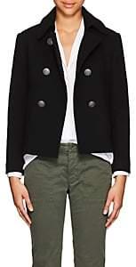 Nili Lotan Women's Franklin Wool Short Peacoat - Black