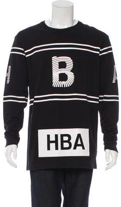 Hood by Air Logo Longline T-Shirt $145 thestylecure.com