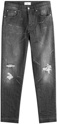 Ami Distressed Skinny Jeans