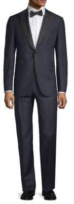 Isaia Gregorio Peak Lapel Suit