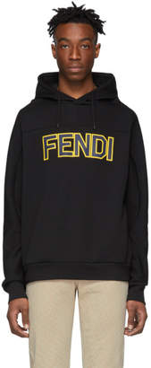 Fendi Black Logo Hoodie