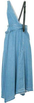 Aula asymmetric designer skirt