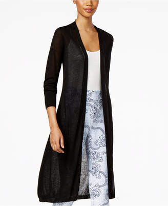Thalia Sodi Open-Front Duster Cardigan, Created for Macy's